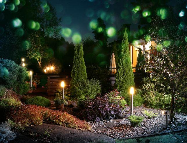 L\'éclairage extérieur ou l\'art d\'illuminer son jardin